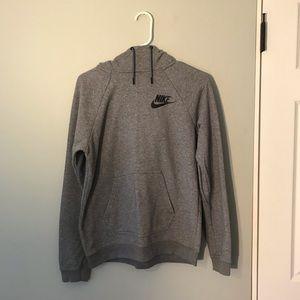 Nike Tops - Nike Sportswear Rally Hoodie Women Small S Grey